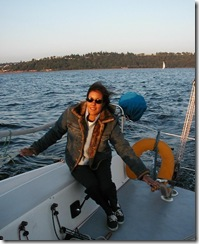 Laura Sokey Sailing in Seattle (1/5)